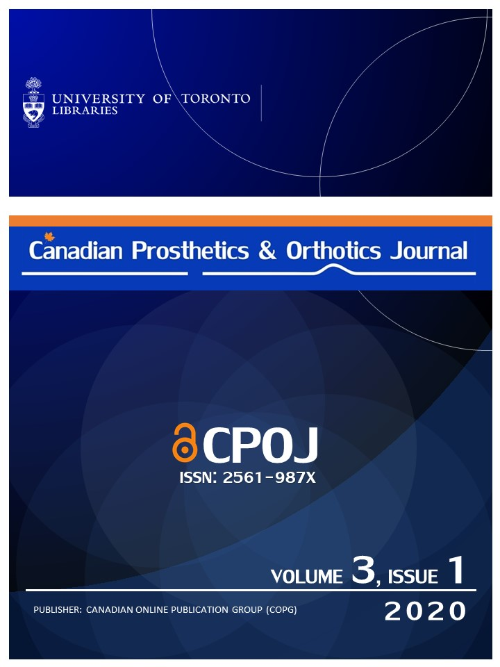 CANADIAN PROSTHETICS & ORTHOTICS JOURNAL